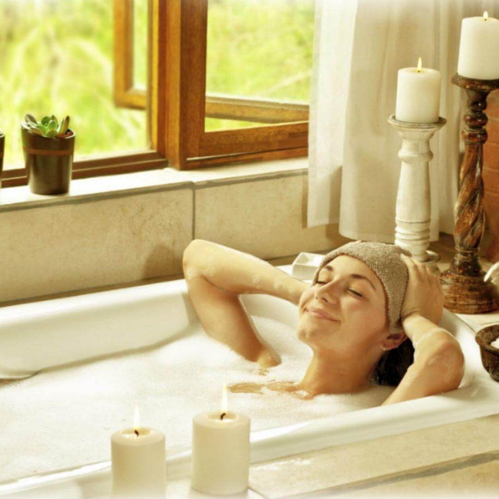 como preparar un bano relajante 2 1