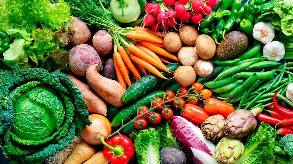 frutas y verduras de temporada por 1