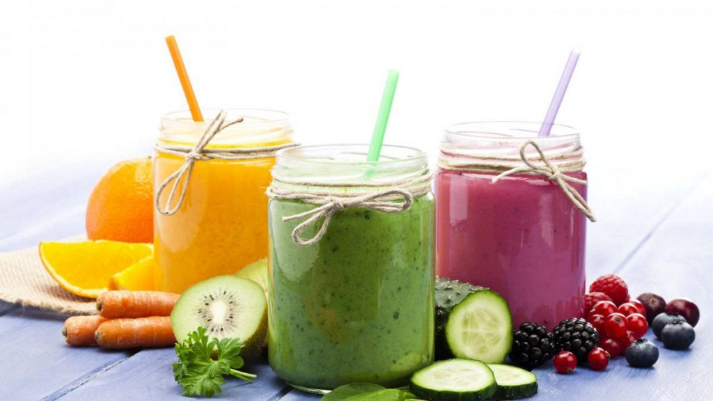 7 recetas de jugos detox