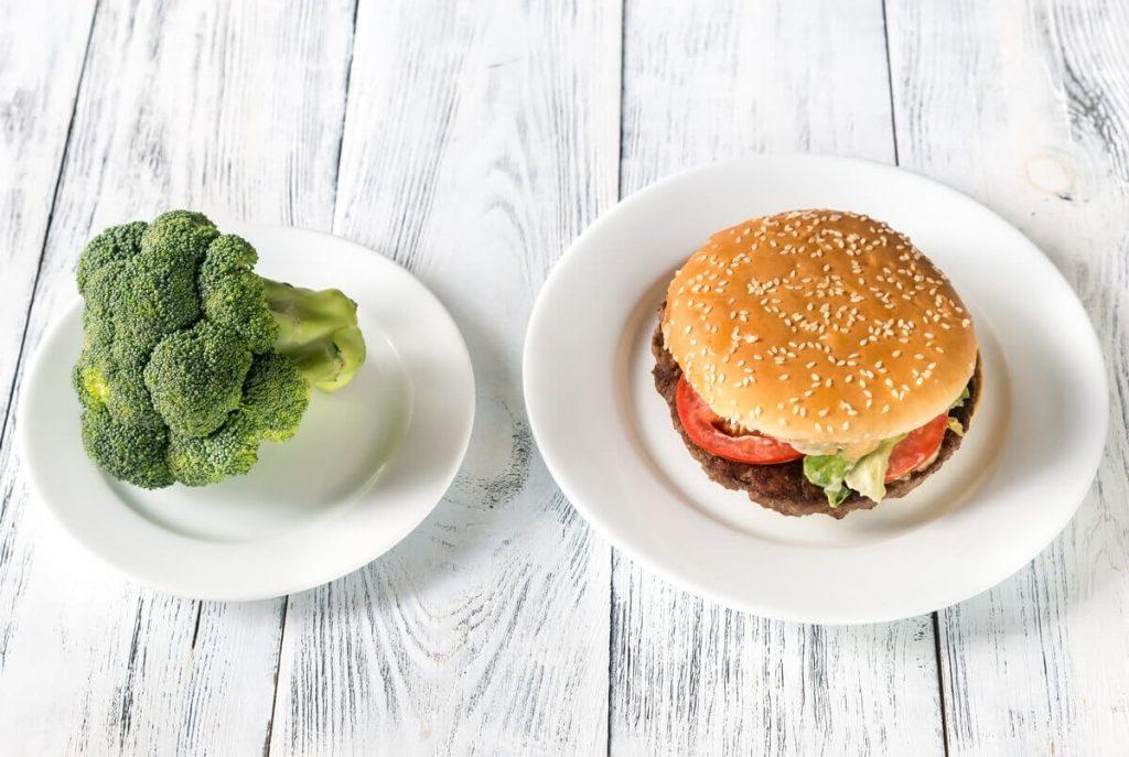 unhealthy vs healthy food wh7v9qu 2