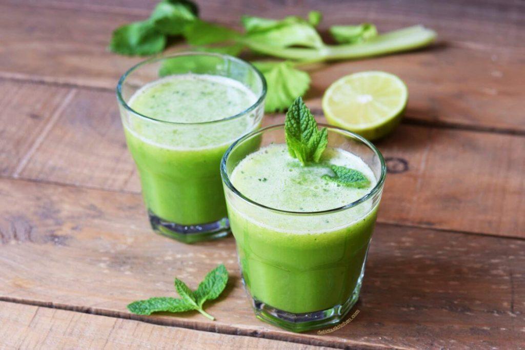 zumo verde o jugo verde con menta y limon 1170x780 1